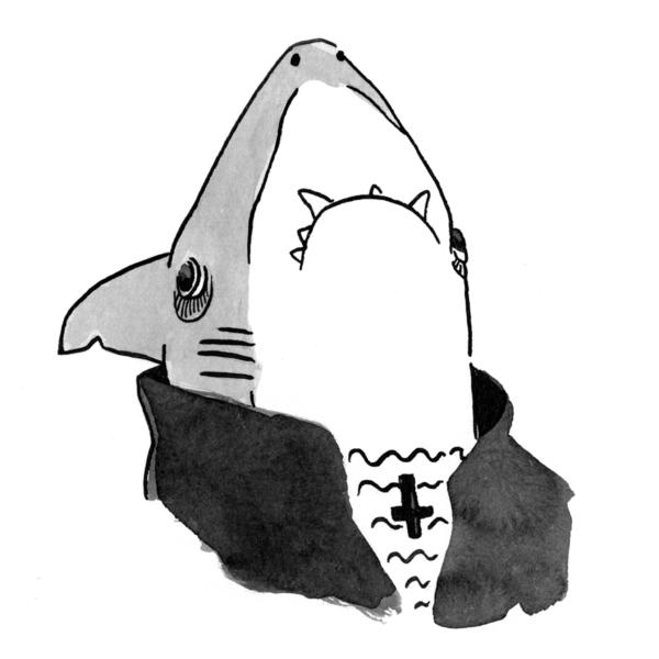 Illo-SharkVampire
